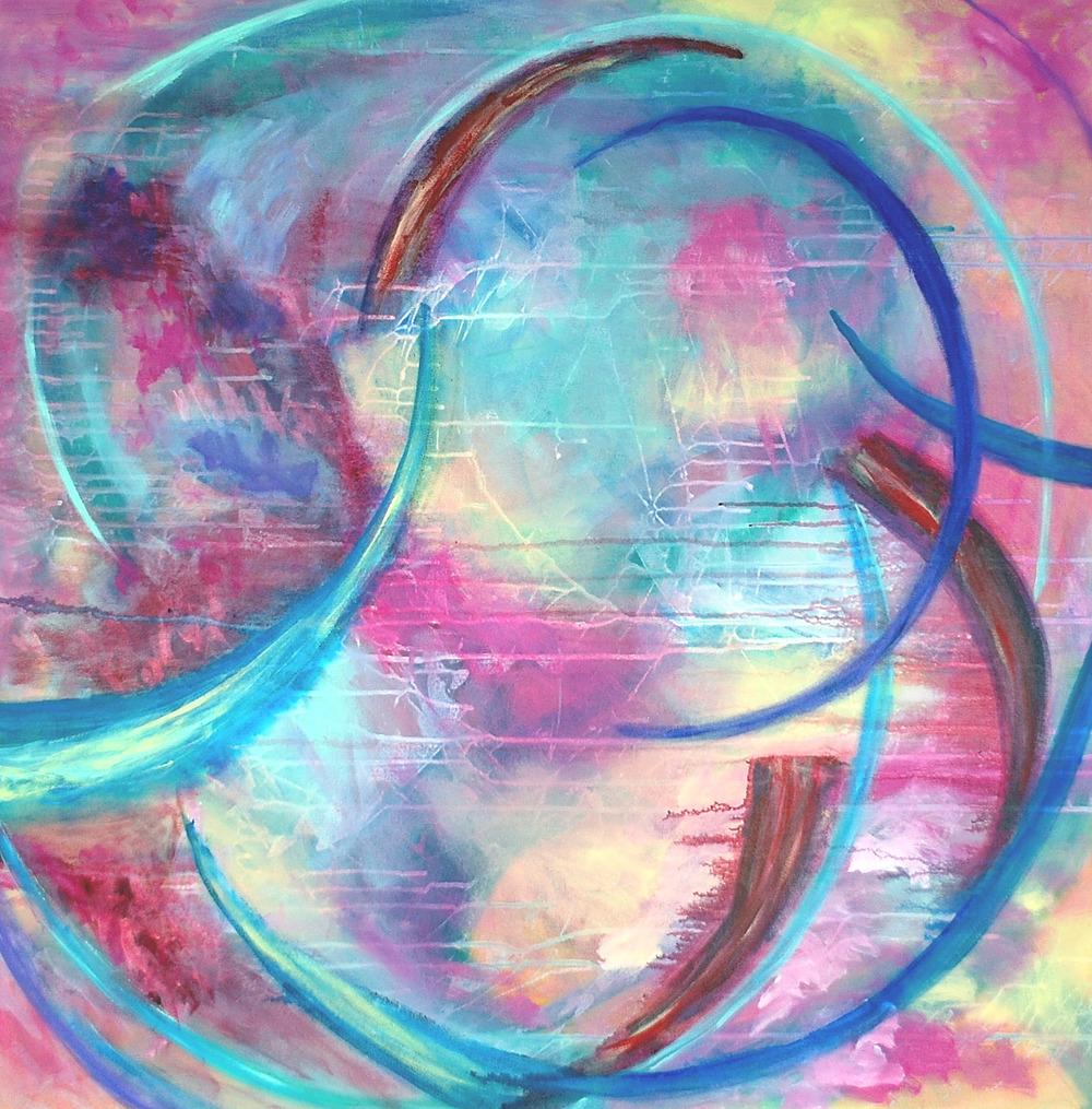Inner Peace by Mary Leonard   ArtworkNetwork.com