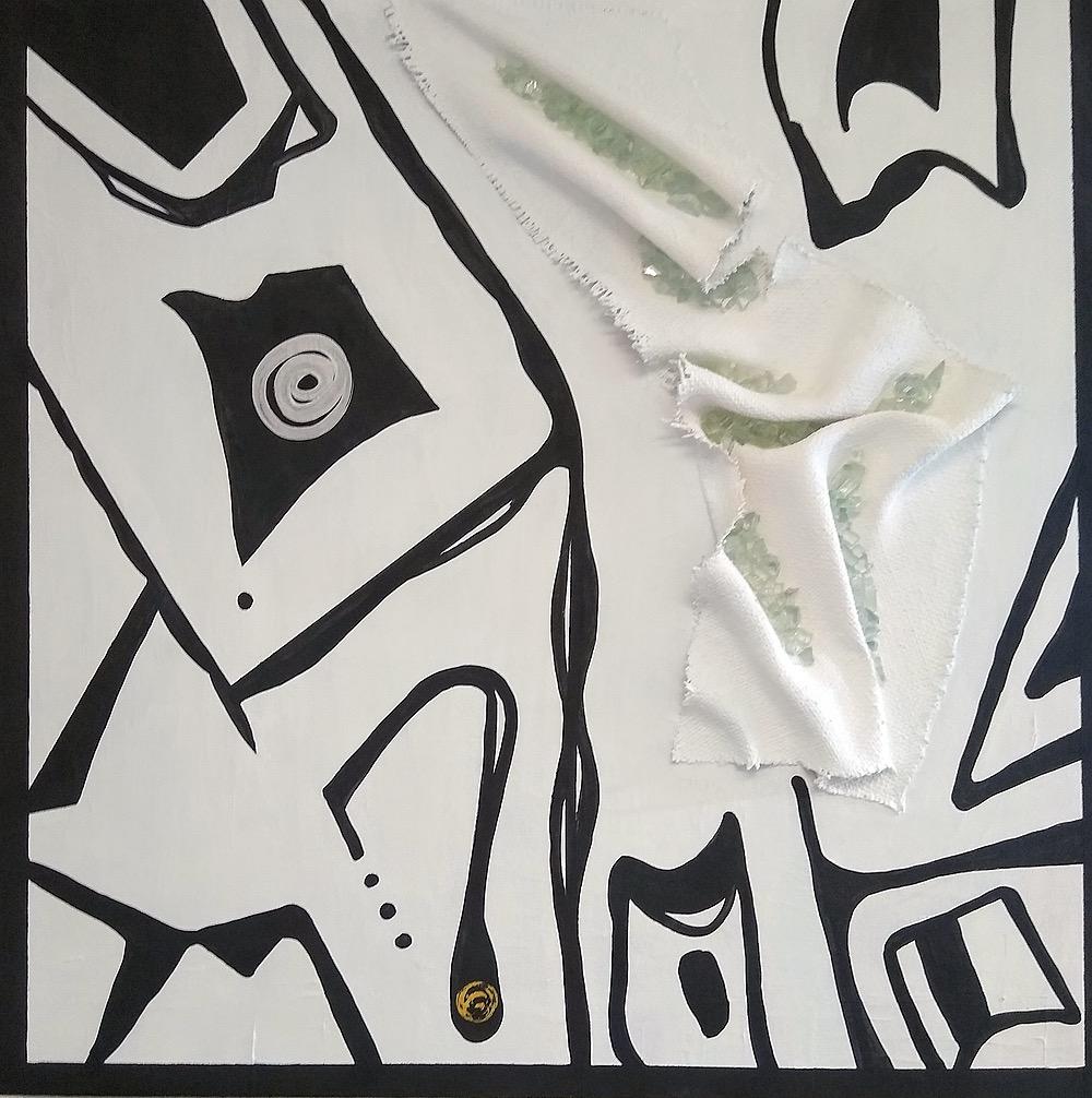 Black and white by Helene Strebel | ArtworkNetwork.com