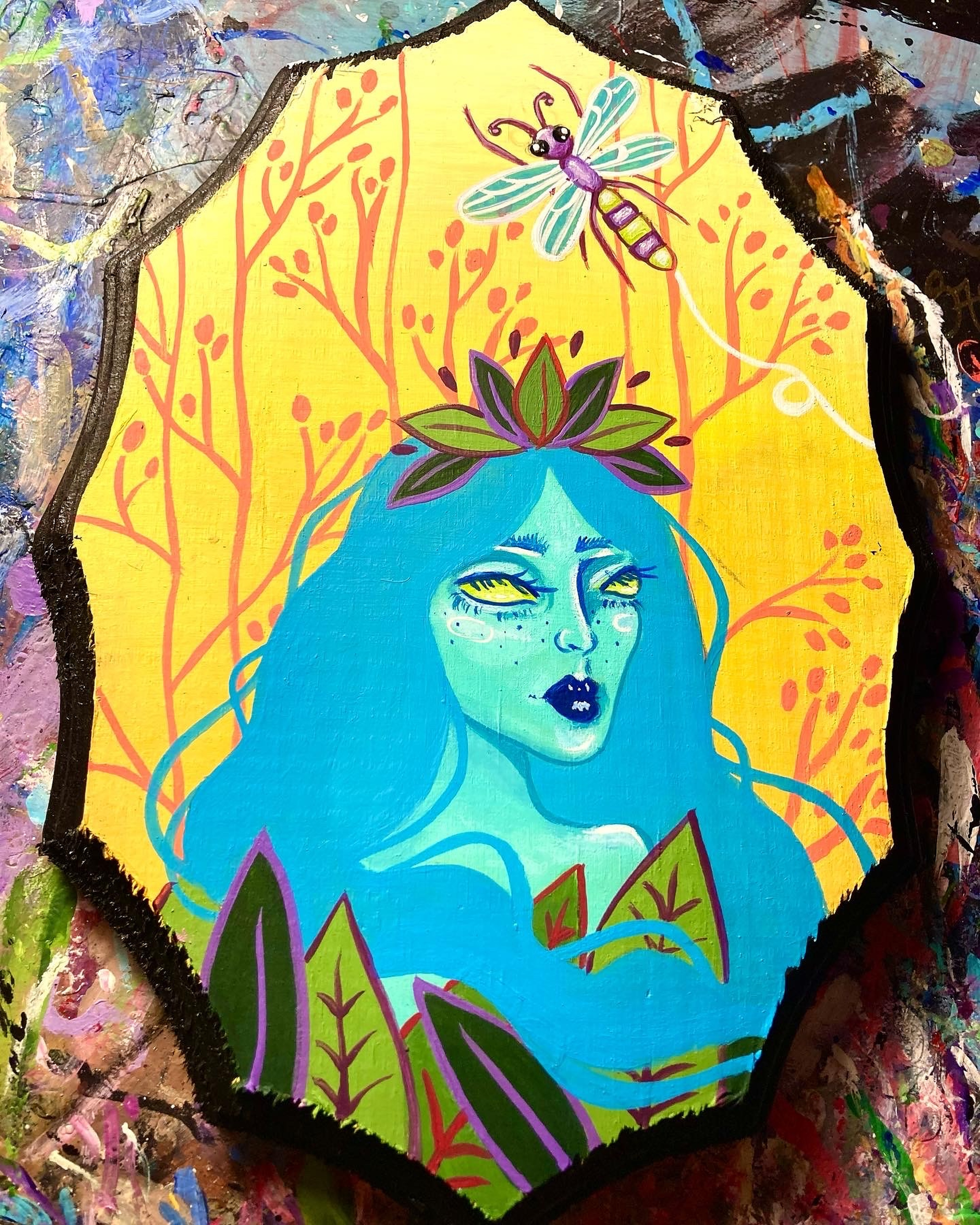 She Was the Forest by Sydney Roberts | ArtworkNetwork.com