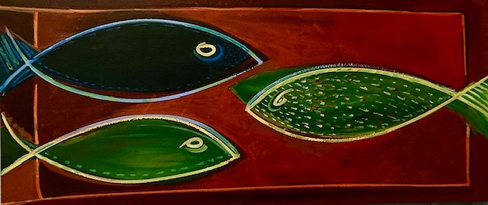 3 Fish (Jax) by Kevan Krasnoff | ArtworkNetwork.com
