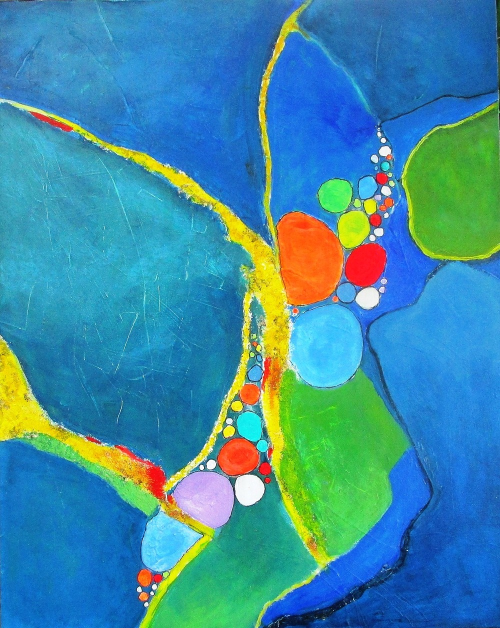 Of Land and Water I by Marie-Luise Vaughn | ArtworkNetwork.com